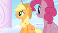 Applejack wondering where Rainbow Dash is S1E16.png