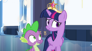 Bashful Twilight and Spike EG