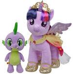 Build a Bear Workshop Princess Twilight Sparkle and Spike