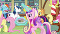 Cadance watches the ponies enjoy themselves S5E19.png