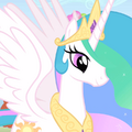 Celestia talking ID S1E13
