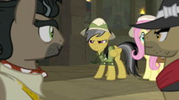 Daring Do distrustful of Caballeron S9E21