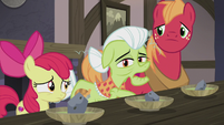 Granny Smith asks about six-layer bean dip S5E20