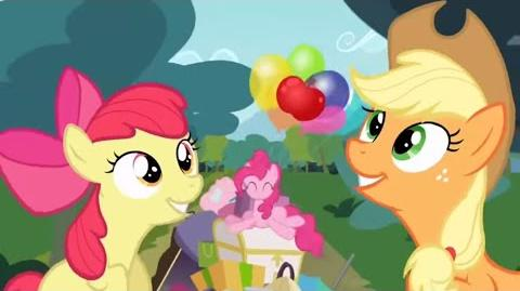 Italian My Little Pony Apples To The Core HD