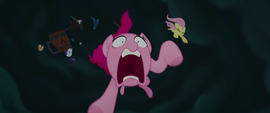 Main ponies falling out of the sky MLPTM