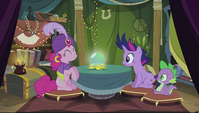 "Pinkie Pie's ""mystical orb of fate's destiny"" S2E20"