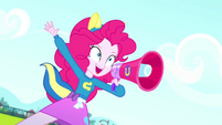 Pinkie Pie shouting -Wonder!- SS4