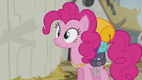 Pinkie hears Gilda's voice S5E8