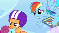 Rainbow -you might wanna hold onto your wings- S7E7