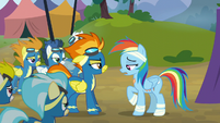 Rainbow apologizes to the Wonderbolts S6E7