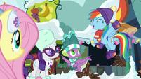 Rainbow joins in on Hearthswarming Helper MLPBGE