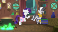 "Rarity ""I have no idea what happened!"" S8E11"