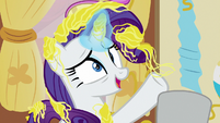 "Rarity ""before the shoot tomorrow"" S7E19"