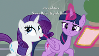 Rarity -it's nothing to worry about- S8E16