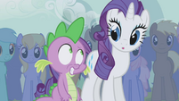 Rarity surprised also S1E6