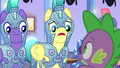 "Royal guard 1 ""defeating two changelings?"" S6E16.png"