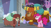 Rutherford introduces Pinkie Pie to Yona S8E1