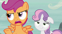 Scootaloo -Feather Bangs may have good timing- S7E8