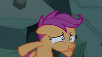 Scootaloo rapidly breathing out S7E16