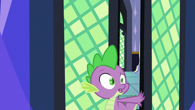"""File:Spike """"are you reading during a party"""" S7E1.png"""