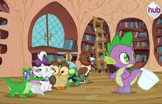 Spike con las pets