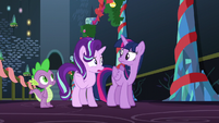 Starlight --I think to most ponies it's just an excuse for silly songs and fun-- S6E8