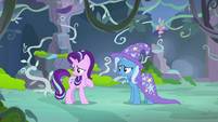 Starlight Glimmer doesn't want to tell Thorax S7E17