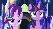 Starlight Glimmer raising an eyebrow S7E26