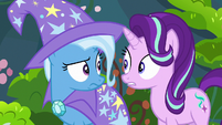 Starlight and Trixie surprised Thorax has a brother S7E17