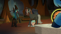 Tirek and Chrysalis gasp in surprise S9E1