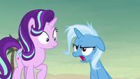 Trixie frustrated -okay, fine!- S8E19