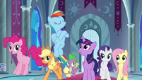 Twilight's friends ready to rule Equestria S9E1