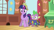 Twilight & Spike the cue S3E13