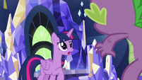 "Twilight Sparkle ""I saw you coming"" S7E15"
