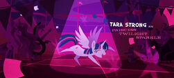 Twilight doing the Elaine Dance MLPTM