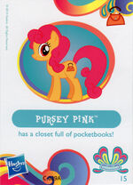 Wave 11 Pursey Pink collector card
