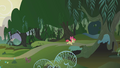 Apple Bloom entering the Everfree Forest S1E09.png