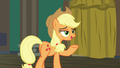 Applejack calling out to Fluttershy S6E20.png
