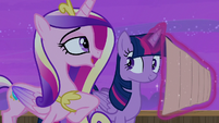 "Cadance ""the family and I have something scheduled"" S7E22"