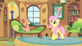Fluttershy taking care of Philomena S01E22.png