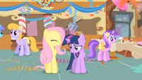 Fluttershy tries to comfort Twilight S1E22