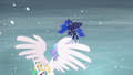 Luna sees Celestia flying off S6E2.png