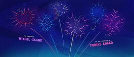Mane Six's cutie marks in fireworks MLPTM