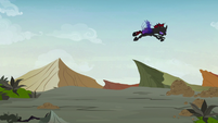 Pharynx flying over the ridge S7E17