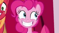 Pinkie Pie big grin S4E09