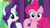 Pinkie Pie in surprised confusion S7E1