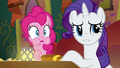 Pinkie and Rarity listen to Coriander and Saffron argue S6E12.png
