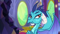 Princess Ember still eating gems S7E15