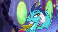 Princess Ember still eating gems S7E15