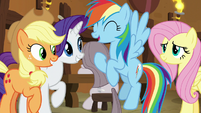 "Rainbow Dash ""we're awesome!"" S8E18"